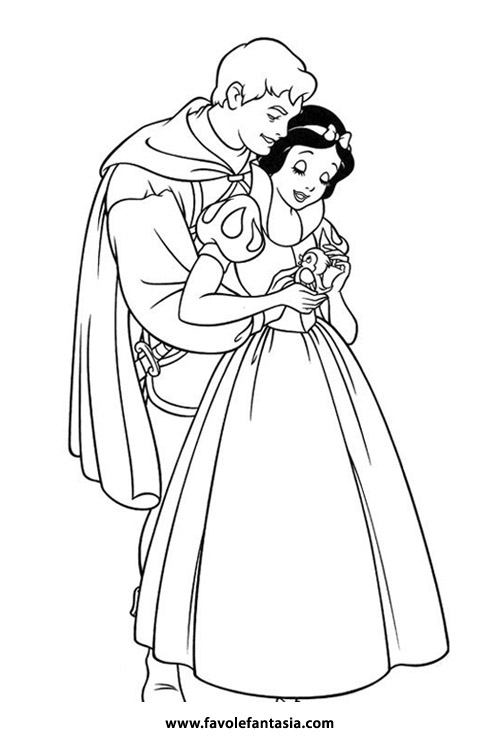 Biancaneve con principe