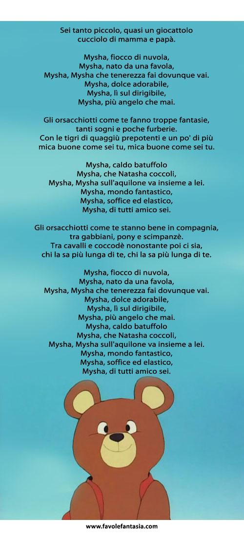Orsetto_Mysha la sigla