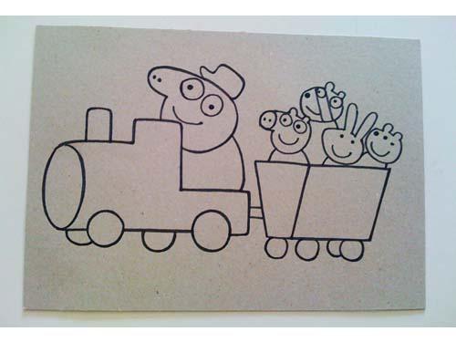 Disegno Peppa Pig