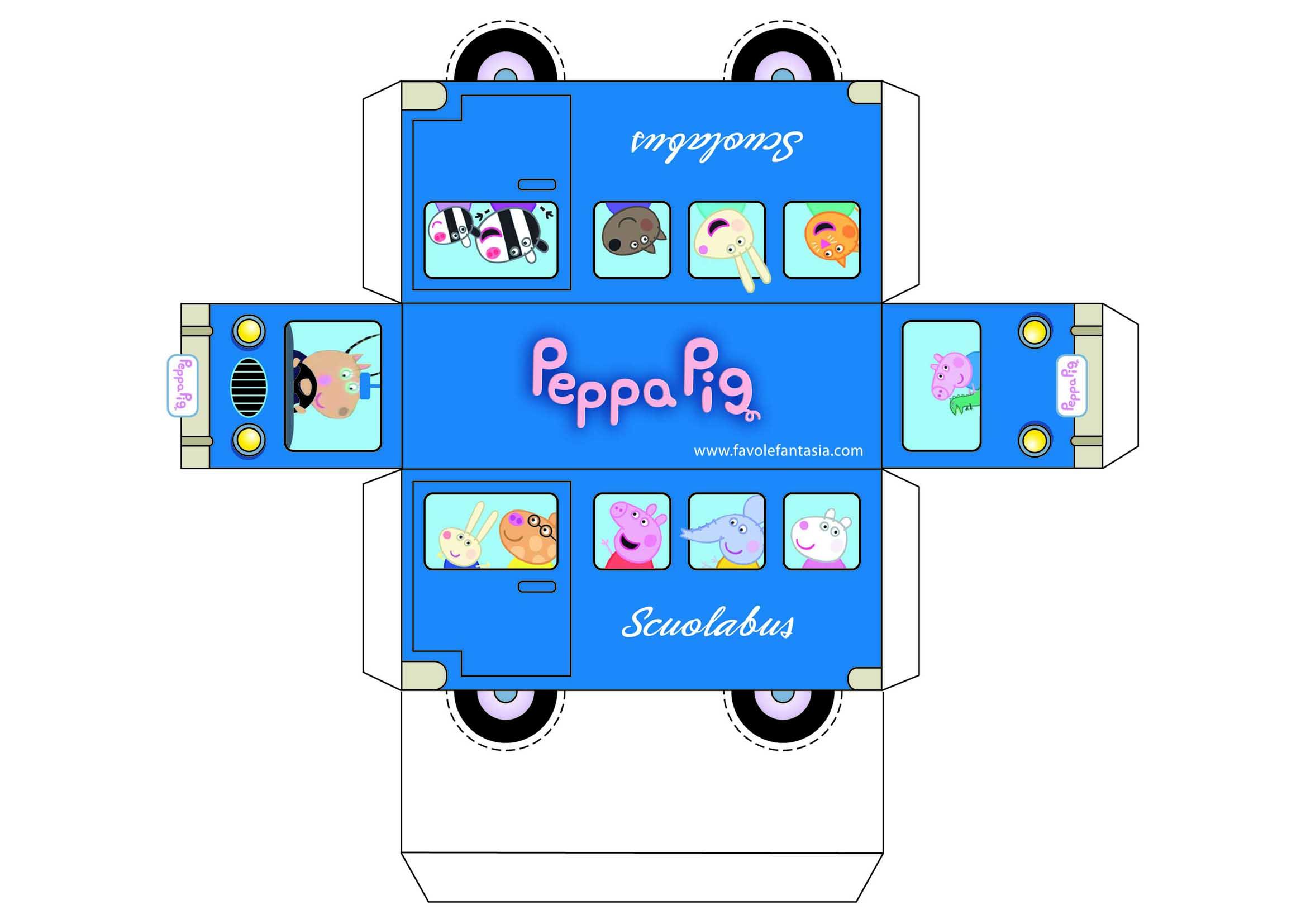 Scuolabus di Peppa Pig