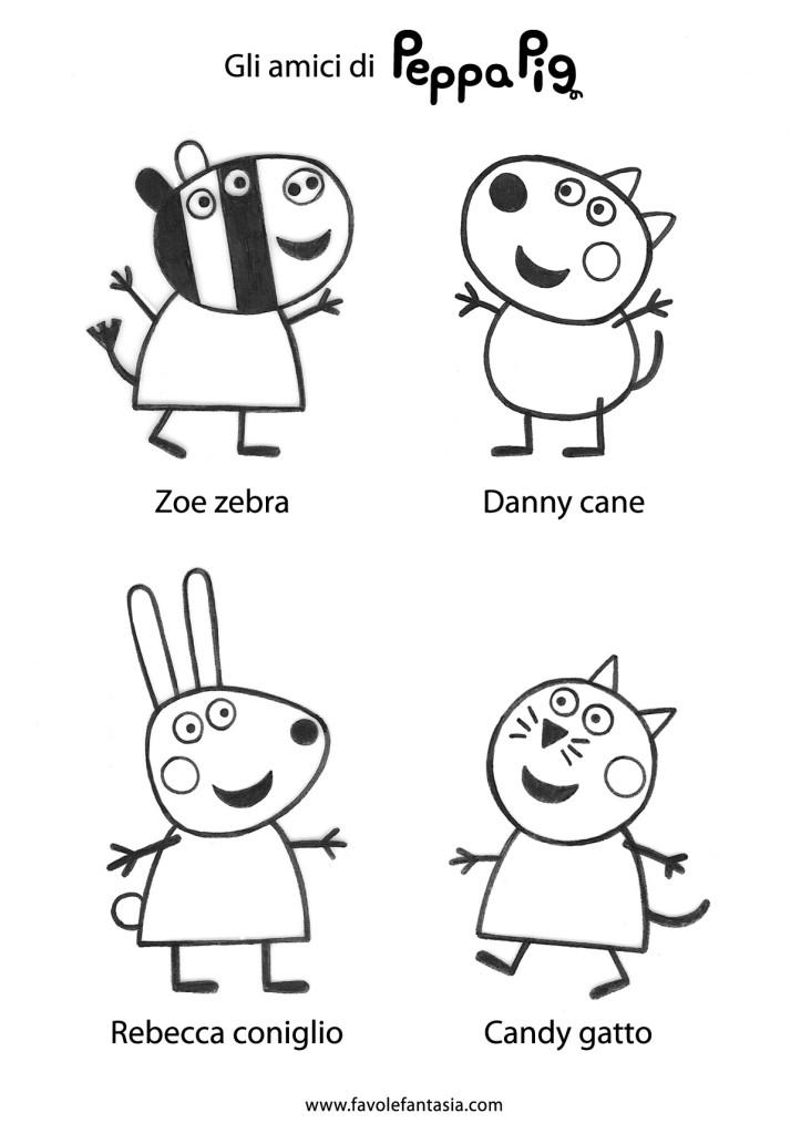 Peppa Pig amici