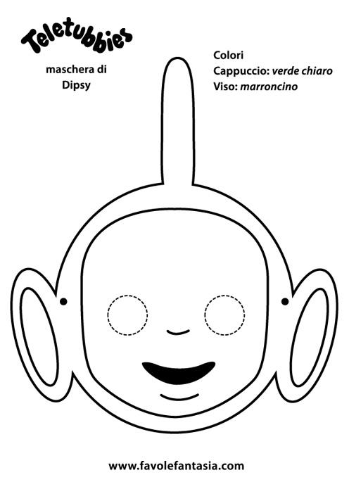 maschera Dipsy