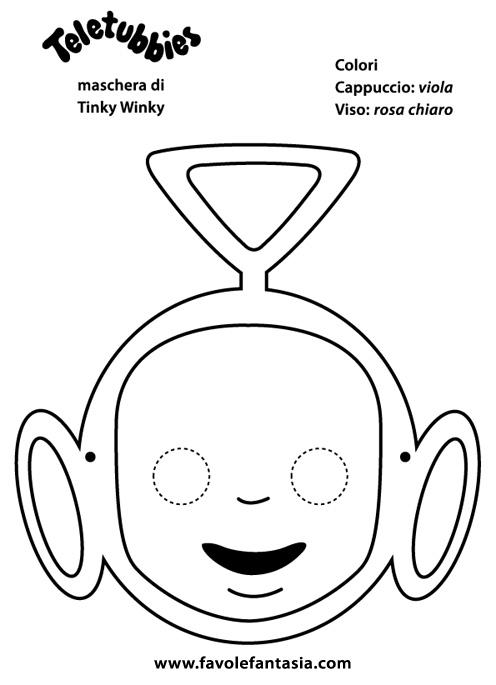 maschera Tinky Winky