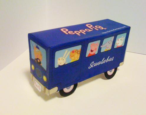 scuolabus Peppa pig