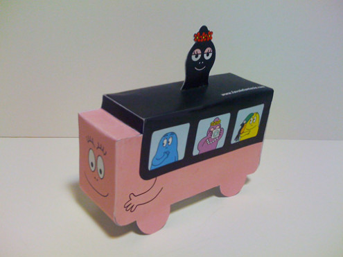 Bus Barbapapa