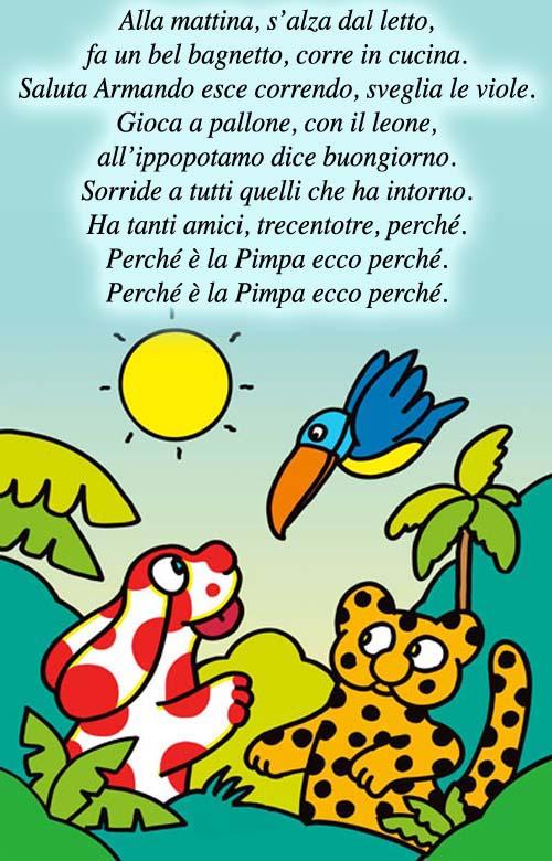 Canzone Pimpa