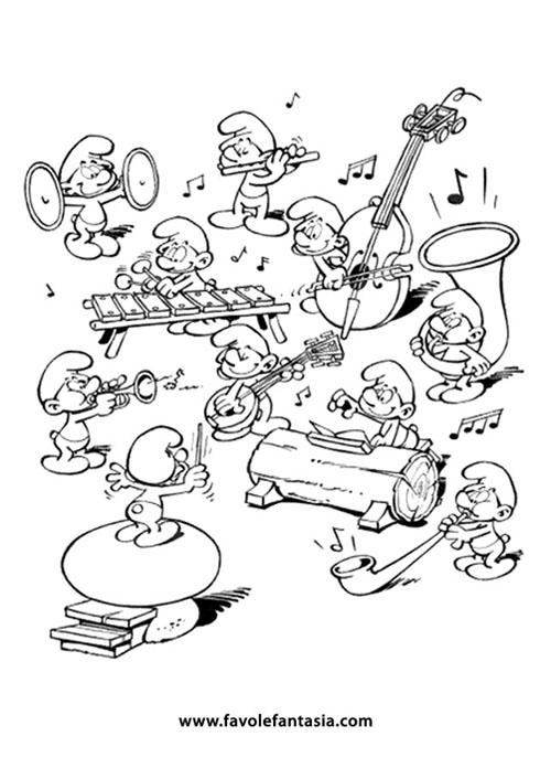 orchestra puffi