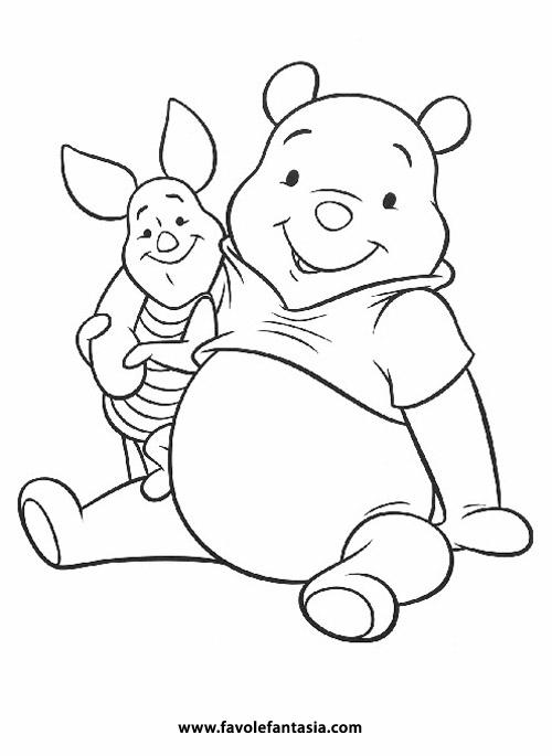 Winnie The Pooh Da Colorare Favole E Fantasia