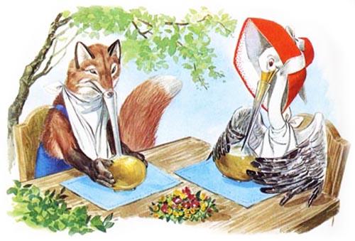 La volpe _e la cicogna