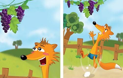 La volpe e l'uva_