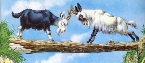 Le due capre_ La Fontaine