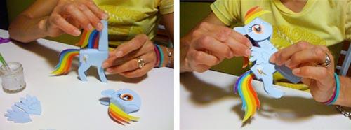 Pony origami