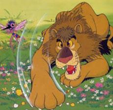 la-zanzara-e-il-leone