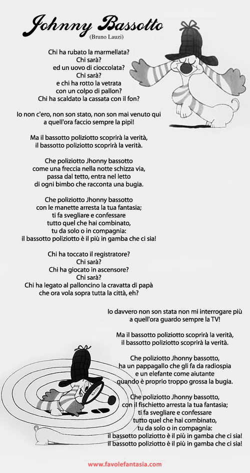 online retailer cc882 aa7c8 Johnny Bassotto | Favole e Fantasia
