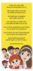 coccinella testo sigla