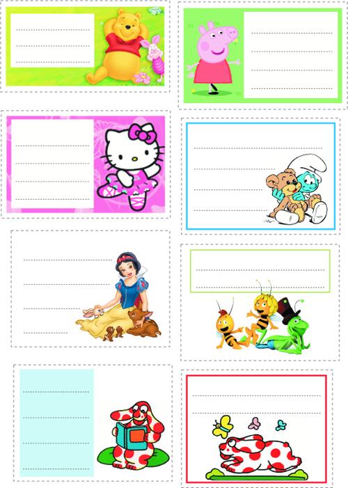 Top Etichette per la scuola | Favole e Fantasia YQ46