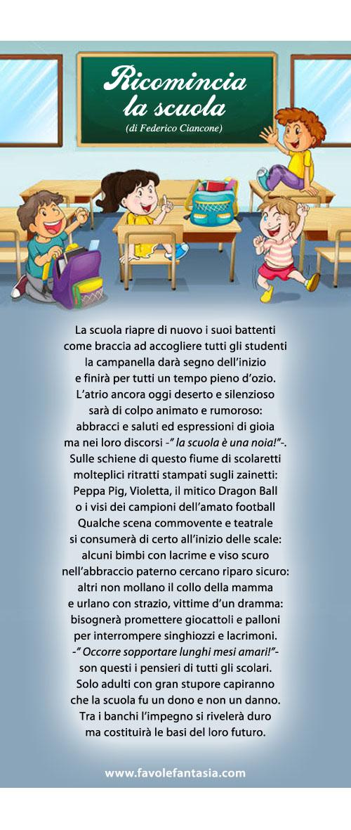 Ricomincia la scuola_ Federico Ciancone