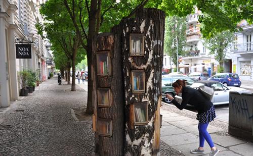 albero dei libri Berlino