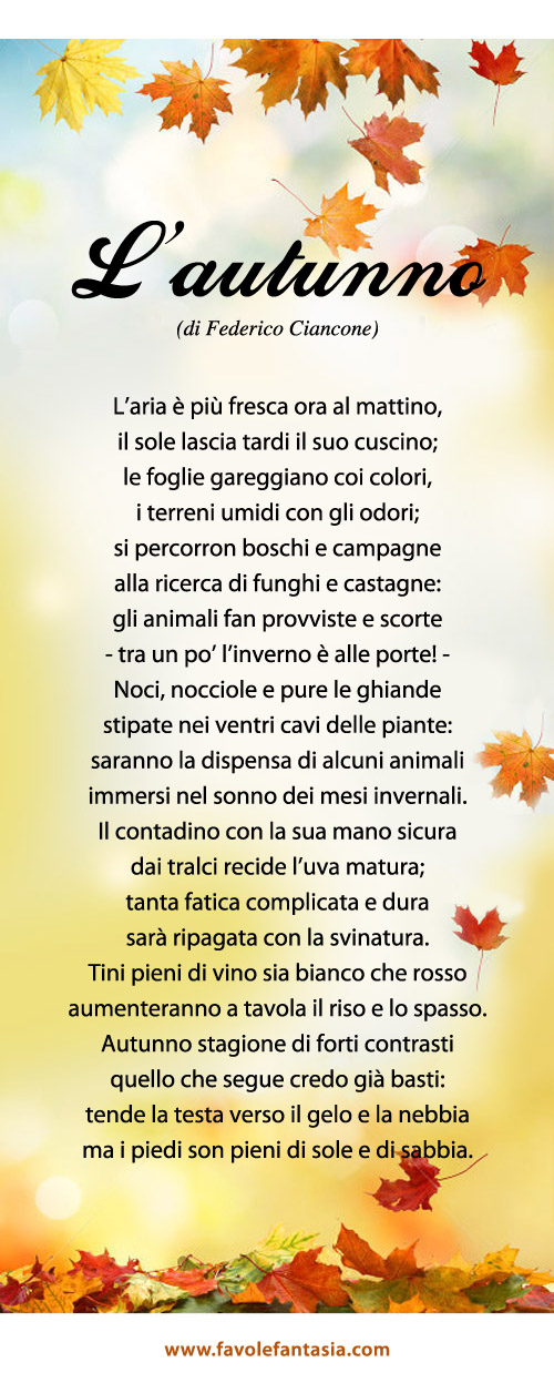 L'autunno_ Federico Ciancone
