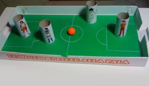 Campo di calcio cartone