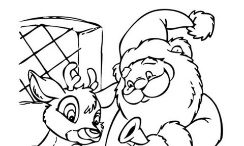 Disegni Da Ricopiare Di Natale.Disegni Di Natale Da Colorare Favole E Fantasia