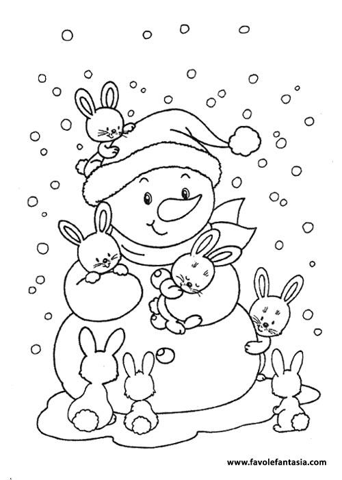 Disegni Di Natale Stampa E Colora.Disegni Di Natale Da Colorare Favole E Fantasia