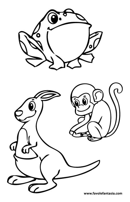 animali da colorare 2