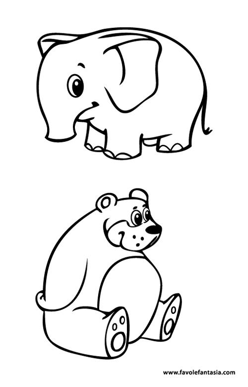 animali da colorare 3