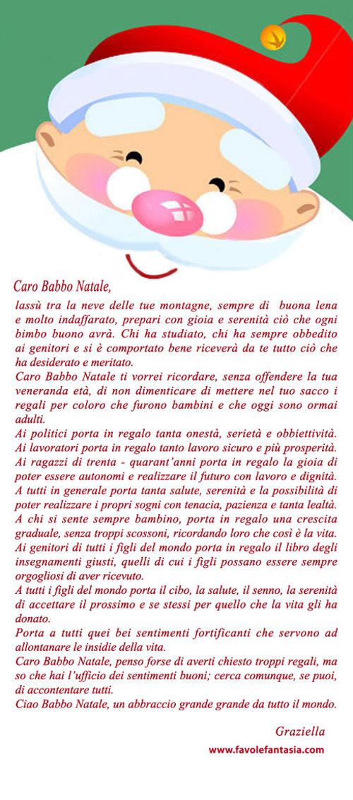 Lettera a Babbo Natale_ Graziella
