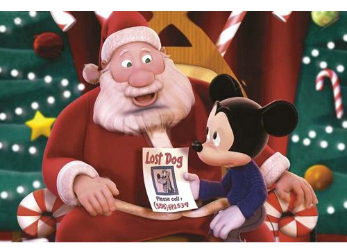 Topolino e Babbo Natale