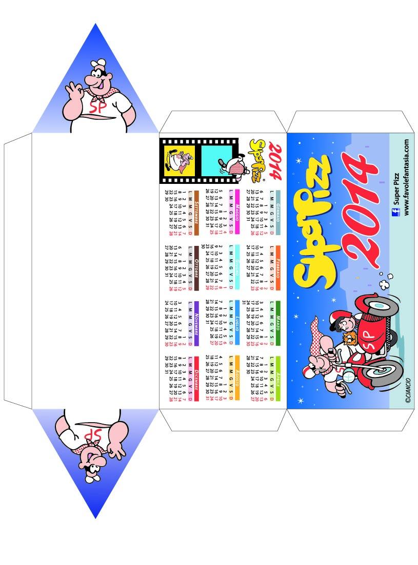 Schema Calendario da stampare