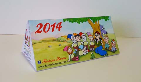 FavoleFantasia calendario 2014
