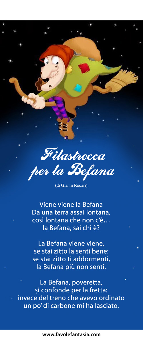 Filastrocca per la Befana_Gianni Rodari