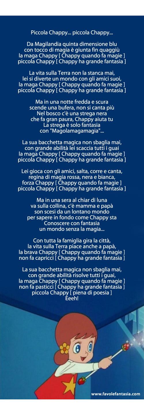 La maga Chappy_sigla