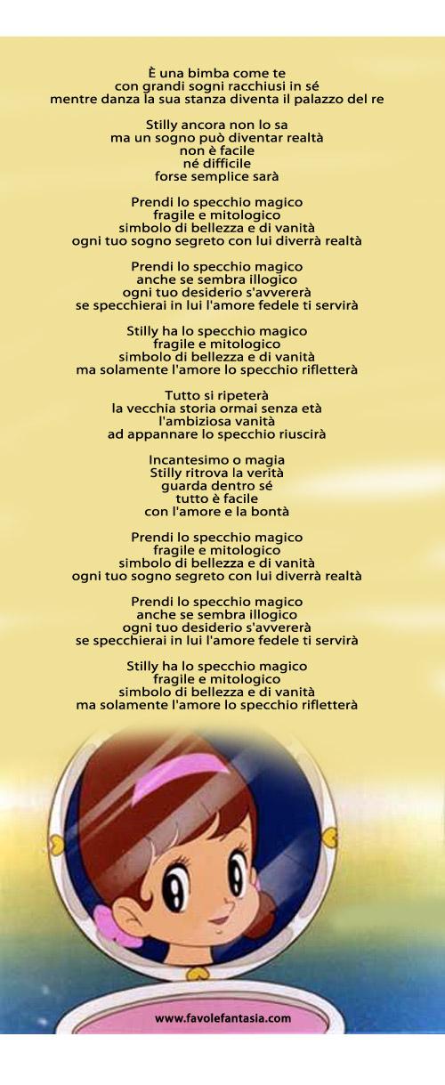 Lo specchio magico_Sigla