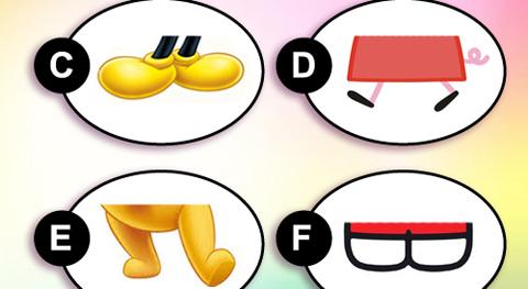 Riconosci i piedi_gioco