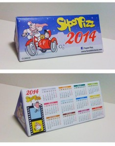 Super Pizz Calendario 2014_Luca Ciancio