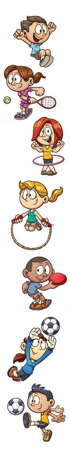 Bambini e lo sport