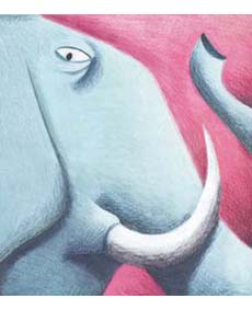 Il grande elefante_favola africanajpg