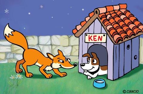 La volpe e il cane_Ciancio Luca