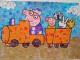 Peppa Pig il mosaico