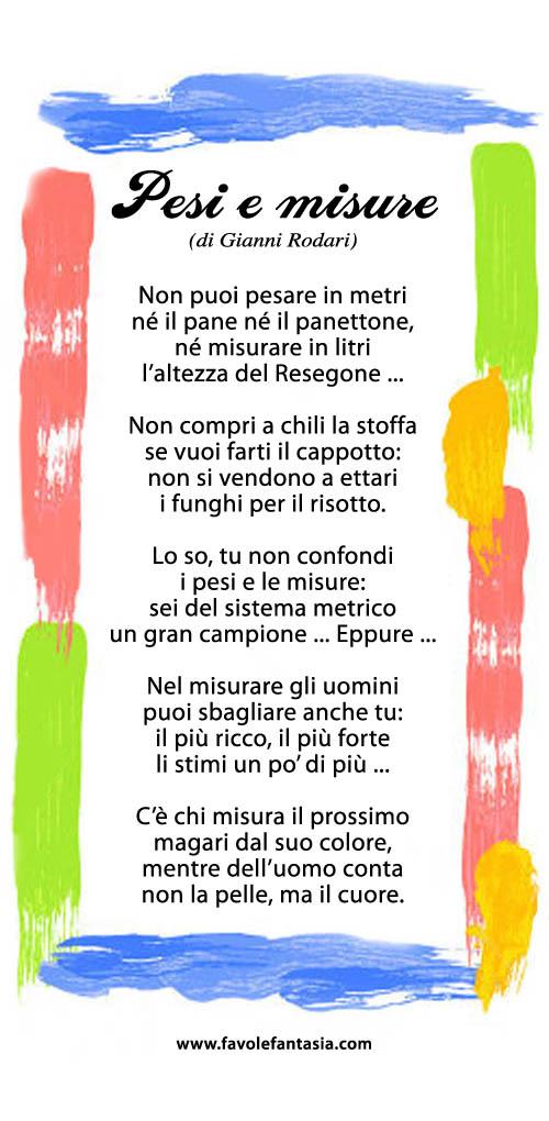 Pesi e misure_Gianni Rodari