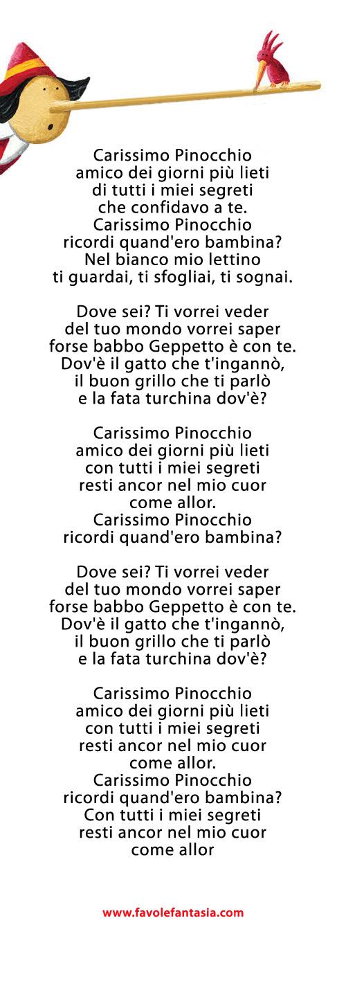 Lettera a Pinocchio