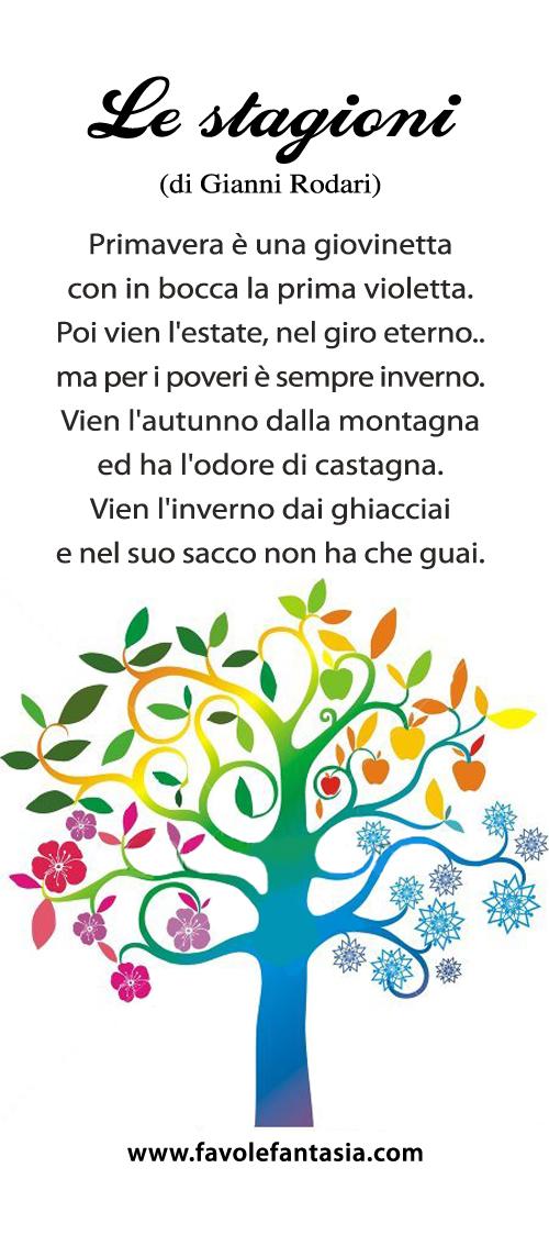 Le stagioni_Gianni Rodari
