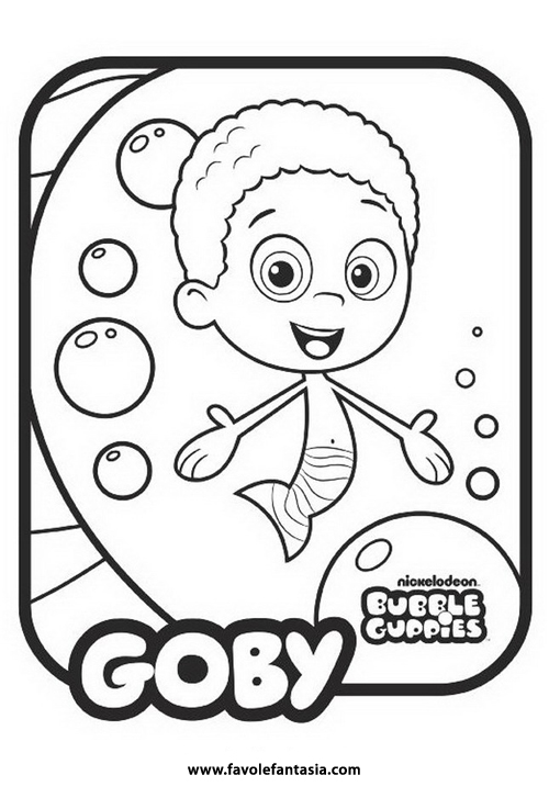 bubble guppies coloring pages oonagh - photo#15