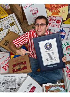 Scott Wiener, con il riconoscimento del Guinness dei primati