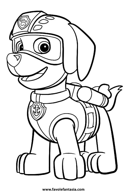 Paw Patrol Da Colorare Favole E Fantasia