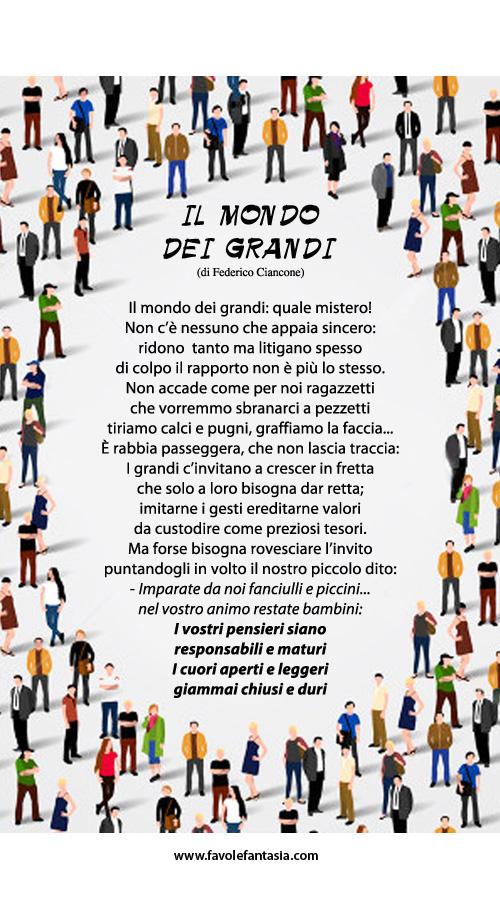 Il mondo dei grandi_ Federico Ciancone