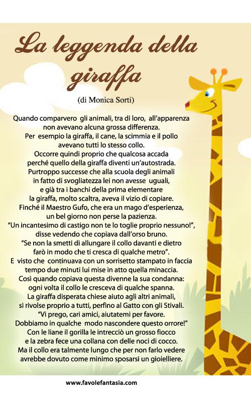 La Leggenda della giraffa_Monica Sorti