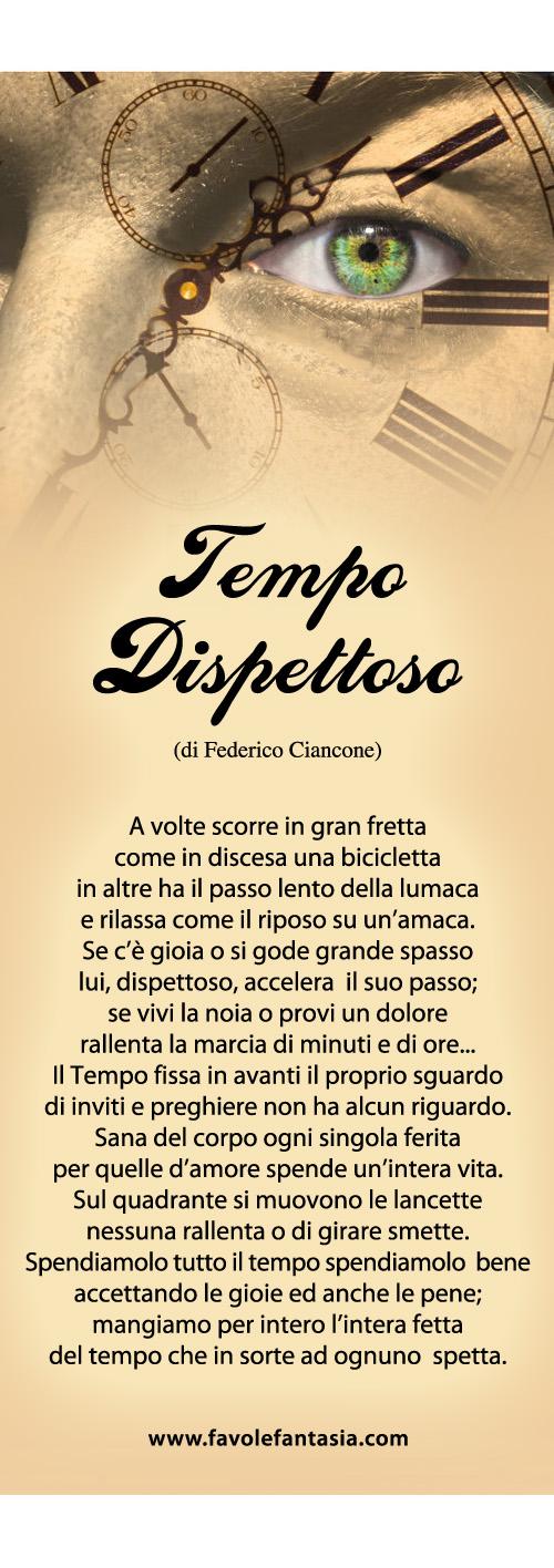 Tempo dispettoso_Federico Ciancone